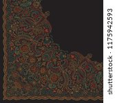 vector abstract dark bandana...   Shutterstock .eps vector #1175942593