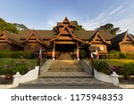 the malacca sultanate palace... | Shutterstock . vector #1175948353