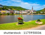 cochem old town and mosel river ...   Shutterstock . vector #1175950036