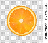 orange slice with transparent... | Shutterstock .eps vector #1175968633