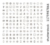 network icon set. collection of ... | Shutterstock .eps vector #1175987866