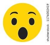 emoji surprise face vector...