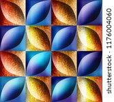 abstract decorative tiles... | Shutterstock . vector #1176004060