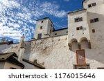 courtyard of the hohensalzburg... | Shutterstock . vector #1176015646