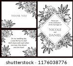 vintage delicate greeting... | Shutterstock . vector #1176038776