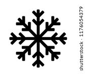 snowflake icon or logo.... | Shutterstock .eps vector #1176054379