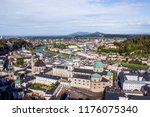 scenic view opening from... | Shutterstock . vector #1176075340