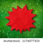 hand made plasticine figure of... | Shutterstock . vector #1176077323