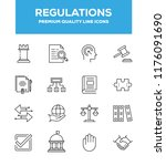 regulations  governance and... | Shutterstock .eps vector #1176091690
