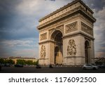 arc de triumphe   Shutterstock . vector #1176092500