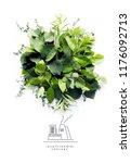 environmentally friendly planet.... | Shutterstock . vector #1176092713