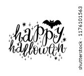 collection of typographic... | Shutterstock .eps vector #1176101563