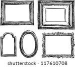 drawn frame | Shutterstock .eps vector #117610708