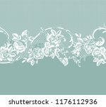 seamless lace ribbon | Shutterstock .eps vector #1176112936