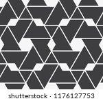 vector seamless pattern.... | Shutterstock .eps vector #1176127753