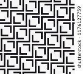 vector seamless pattern.... | Shutterstock .eps vector #1176127759
