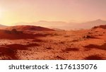 Landscape On Planet Mars ...