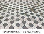 designed textured floor made by ... | Shutterstock . vector #1176149293