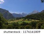 panoramic view of uriellu peak... | Shutterstock . vector #1176161809