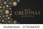 elegant christmas background... | Shutterstock .eps vector #1176166333
