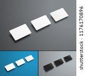 vector universal mockups of... | Shutterstock .eps vector #1176170896