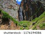 north caucasus. the republic of ... | Shutterstock . vector #1176194086