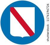campania people republic flag... | Shutterstock .eps vector #1176196726