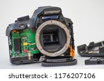 disassembly and repair of... | Shutterstock . vector #1176207106
