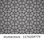 the geometric pattern with... | Shutterstock .eps vector #1176209779