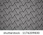abstract geometric pattern with ... | Shutterstock .eps vector #1176209830