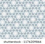 flower geometric pattern.... | Shutterstock .eps vector #1176209866
