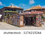 nessebar  bulgaria   august 27  ... | Shutterstock . vector #1176215266