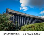 old wooden barn in cheshire ... | Shutterstock . vector #1176215269