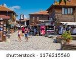 nessebar  bulgaria   august 27  ... | Shutterstock . vector #1176215560