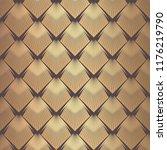 art deco pattern. seamless... | Shutterstock .eps vector #1176219790
