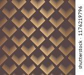 art deco pattern. seamless... | Shutterstock .eps vector #1176219796