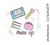 doodle illustration with...   Shutterstock .eps vector #1176241879
