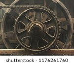 Steampunk Background Of Large...