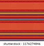 blanket stripes vector pattern. ...   Shutterstock .eps vector #1176274846
