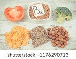 vintage photo  ingredients or... | Shutterstock . vector #1176290713