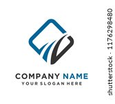 faster the future logo template ... | Shutterstock .eps vector #1176298480