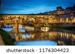 evening view of the famous... | Shutterstock . vector #1176304423