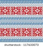 traditional scandinavian... | Shutterstock .eps vector #117633073