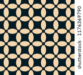 vector geometric seamless... | Shutterstock .eps vector #1176369790