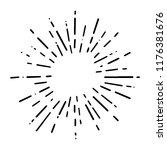 vintage sunburst explosion...   Shutterstock .eps vector #1176381676