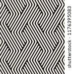vector seamless pattern. modern ... | Shutterstock .eps vector #1176395083