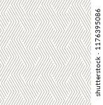 vector seamless pattern. modern ... | Shutterstock .eps vector #1176395086