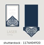 cutout folding envelope for... | Shutterstock .eps vector #1176404920