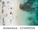 aerial view of an amazing white ... | Shutterstock . vector #1176405226