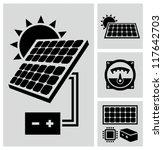 solar energy | Shutterstock .eps vector #117642703